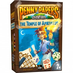Jeux de société - Penny Papers Adventures : The Temple of Apikhabou