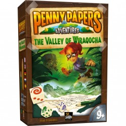 Jeux de société - Penny Papers Adventures : The Valley of Wiraqocha