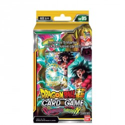 Starter Dragon Ball Super Card Game SD05 - Le Sayan Crimson - Crimson Saiyan 11/10/18