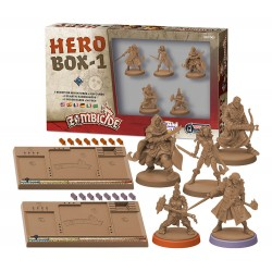 Jeux de société - Zombicide : Black Plague - Hero Box 1