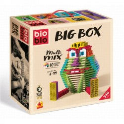 BIOBLO Fun box 340 briques 10 couleurs