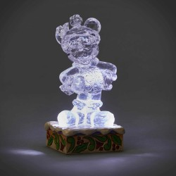 Figurine Disney Tradition Mickey glace sculptée lumineuse - Ice Bright Mickey