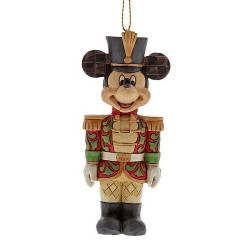 Figurine Disney Tradition suspension Mickey Casse-Noisettes - Mickey Mouse Nutcracker Hanging Ornament