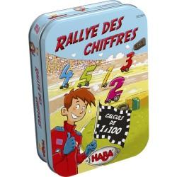 Jeux de société - Rallye des chiffres