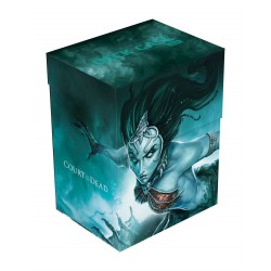 Deck box boite de rangement Ultimate Guard case 80+ standard Court of the Dead - Death's Siren