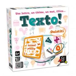 Jeux de société - Texto