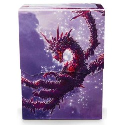 Deck Box illustré boite de rangement Dragon Shield - Racan Clear Purple