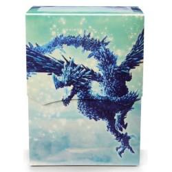 Deck Box illustré boite de rangement Dragon Shield - Celeste Clear Blue