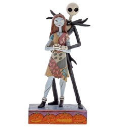 Figurine Disney Tradition Jack Skellington et Sally