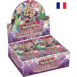 Booster Yu-Gi-Oh! Les Duellistes Légendaires : Les Sœurs de la Rose boite complète