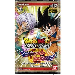 Précommande : Booster Dragon Ball Super Card Game - TB02 World Martial Arts Tournament