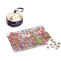 Puzzle : Boule de Noël Santa Scramble