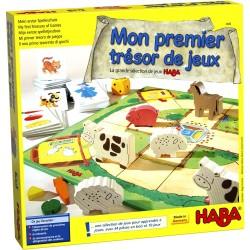 Jeux de société Mon premier trésor de jeux - La grande selection de jeux Haba