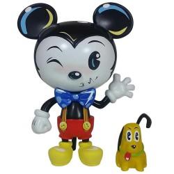 Figurine Disney Showcase Miss Mindy Mickey Mouse et Pluto vinyle