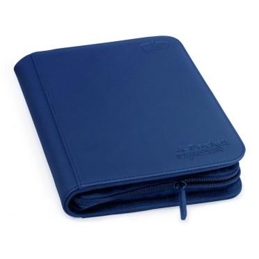 Portfolio - Ultimate Guard ZipFolio XenoSkin 4 Poket bleu A5