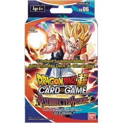 Starter Dragon Ball Super Card Game SD06 -Resurrected Fusion - Gobeta