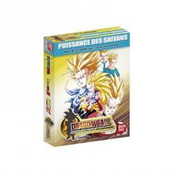 Starter Dragon Ball Card Game Série Puissance des Saiyans