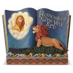Figurine Disney Tradition Storybook Le Roi Lion - Remember Who You Are