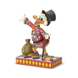 Figurine Disney Tradition Oncle Picsou - Scrooge With Money Bag