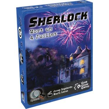 Jeux de société - Q-System - Sherlock : Mort un 4 Juillet