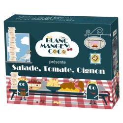 Jeux de société - Blanc Manger Coco - Extension Salade, Tomate, Oignon