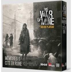 Jeux de société - This War of Mine : le Jeu de Plateau extension Mémoires de la Cité en Ruine