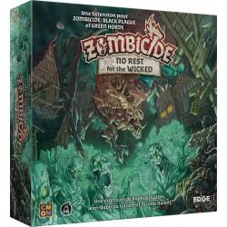 Jeux de société - Zombicide Black Plague : No Rest for the Wicked