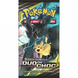 Booster Pokémon Soleil et Lune - Duo de Choc