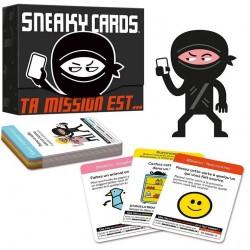 Jeux de société - Sneaky cards