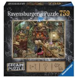 jeux de société - Escape Puzzle : Cuisine de Sorcière