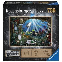 jeux de société - Escape Puzzle : Sous l'Eau