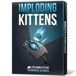 Jeux de société - Exploding Kittens extension Imploding Kittens
