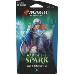 booster Magic War of the Spark - Theme Booster : Bleu