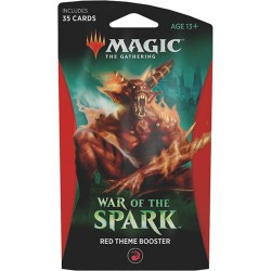 booster Magic War of the Spark - Theme Booster : Rouge