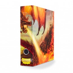 Classeur illustré Dragon Shield Slipcase Binder Red Art Dragon