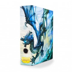 Classeur illustré Dragon Shield Slipcase Binder Blue Art Dragon