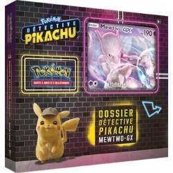 Coffret Pokémon Français - Dossier Détective Pikachu : Mewtwo-GX (6 boosters)