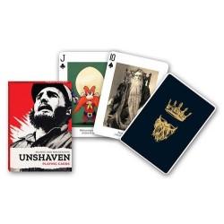 Jeu de cartes Piatnik de 54 cartes illustrés Unshaven
