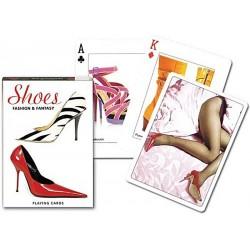 Jeu de cartes Piatnik de 54 cartes illustrés Shoes