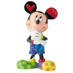 Figurine Disney Britto Mickey Mouse pensif