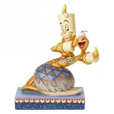Figurine Disney Tradition Lumière et Plumette