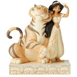 Figurine Disney Tradition Jasmine et Rajah - Jasmine White Woodland