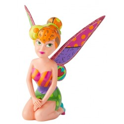 Figurine Disney Britto La Fée Clochette à genoux