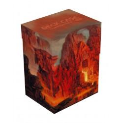 Deck box boite de rangement Ultimate Guard case 80+ standard Lands Edition II Montagne