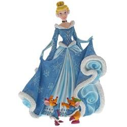 Figurine Disney Showcase Haute Couture Cendrillon Noël