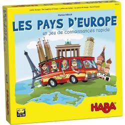 Jeux de société - Les pays d'Europe