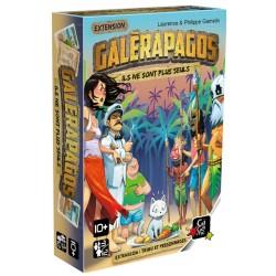 Jeux de société - Galerapagos extension : Tribu et Personnages