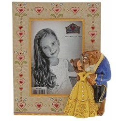 Figurine Disney Tradition Cadre Photo Belle et la Bête - Beauty and the Beast Frame