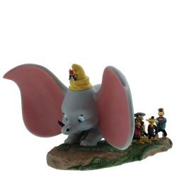 Figurine Disney Enchanting Dumbo, Timothée, Jim le Corbeau et ses frères