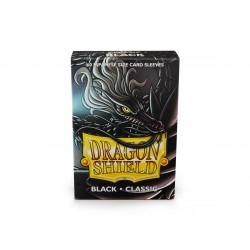 Protège-cartes Dragon Shield - 60 Japanese Sleeves Classic Black